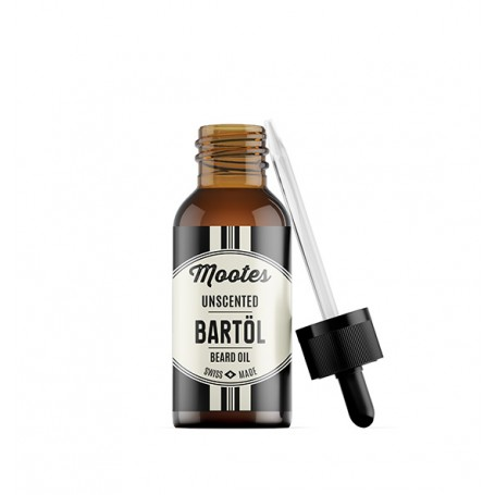 Mootes Bart Öl Unscented 10ml