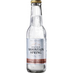 Swiss Mountain Spring Tonic Water Ginger and Lemongrass 20cl