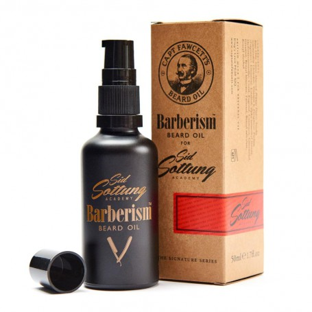 Captain Fawcett Beard Oil Barberism 50ml
