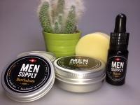 Seife, Öl und Balsam. Ein unschlagbares Trio in der Bartpflege.
